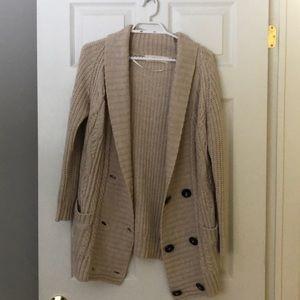 Zara Knit Cardigan With Pockets